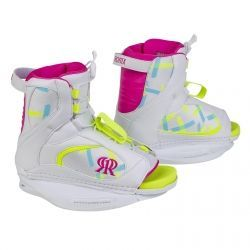 Ronix August Girl's Boot - White / Pink 2016