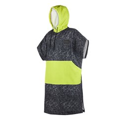 Mystic Poncho Allover - Black/Lime